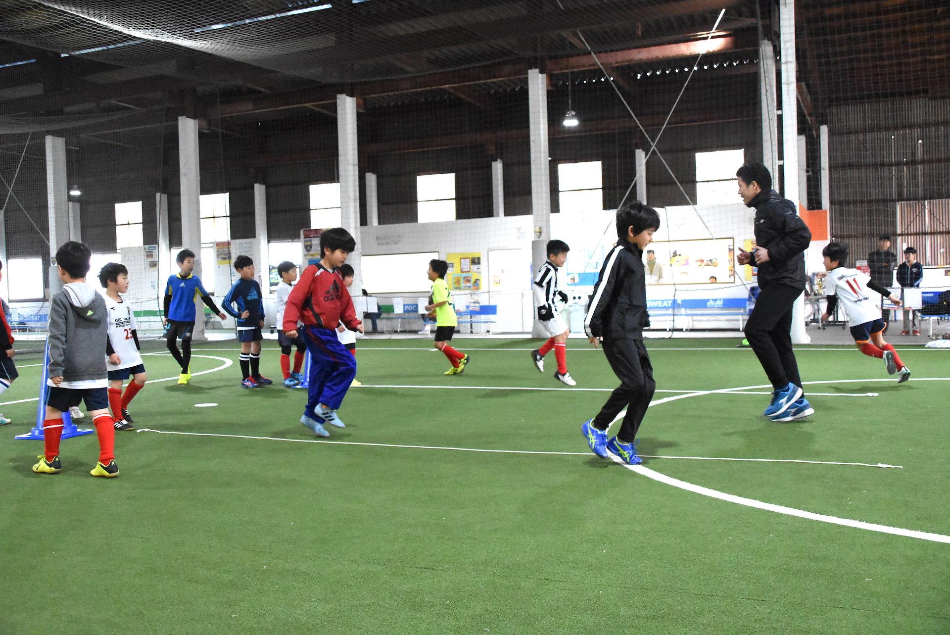 サッカー・フットサルのためのトレーニング塾