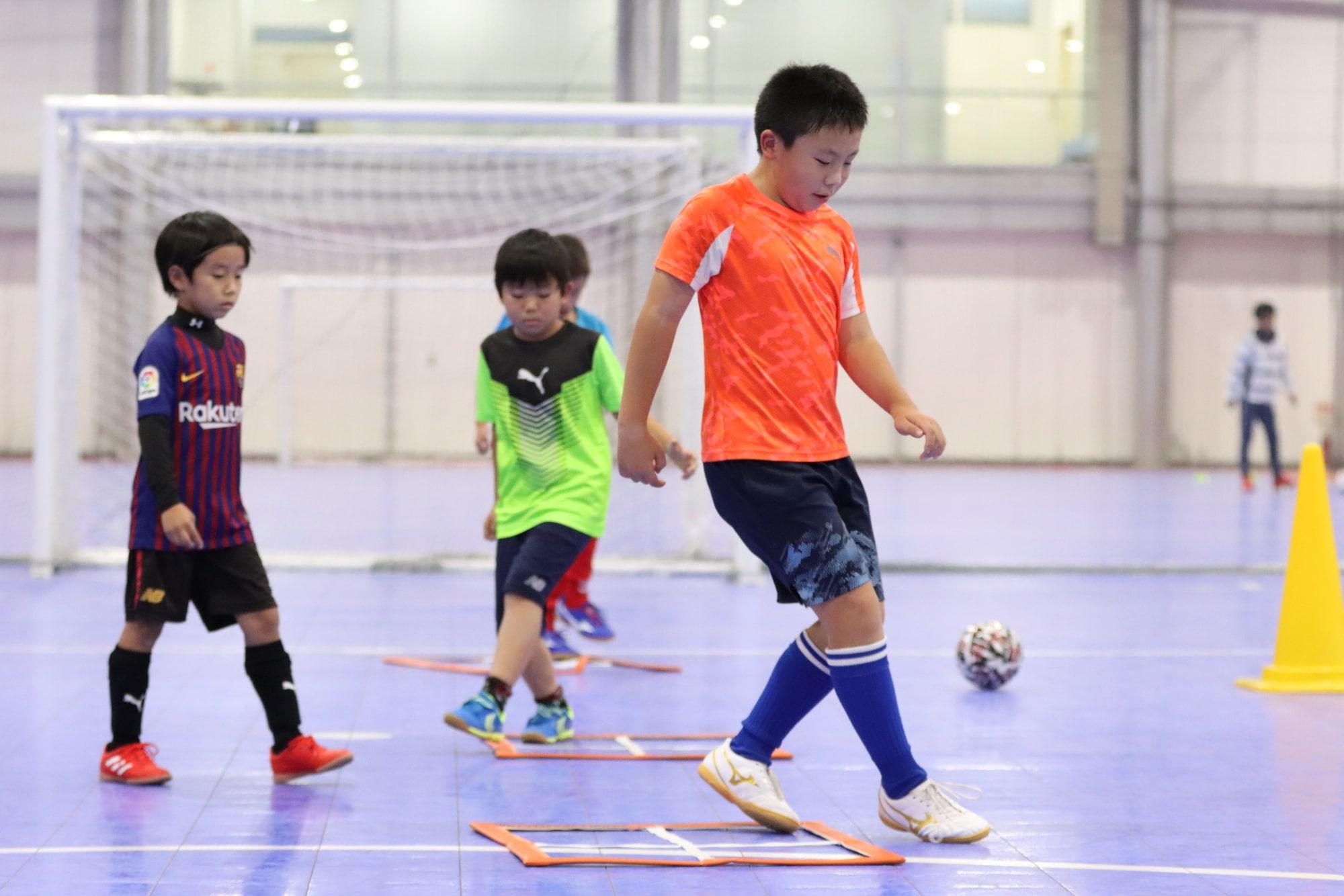 サッカーに必要なステップ能力を高め